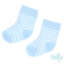 Sokjes streep blue