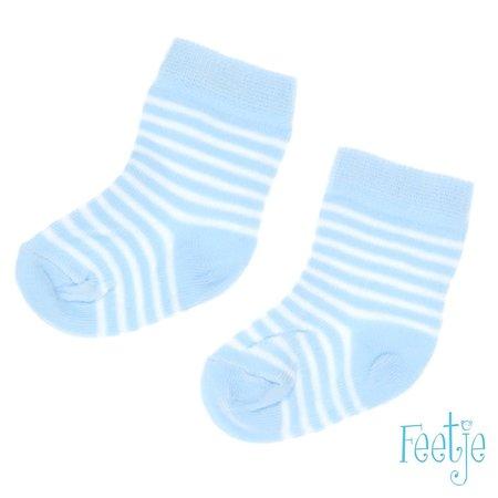 Feetje Feetje sokjes streep blue