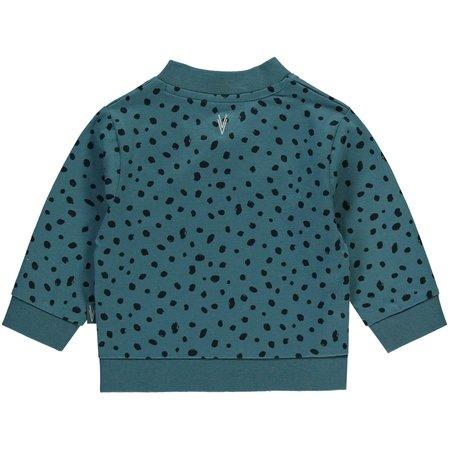 Levv Levv vestje Igor jeans blue dot