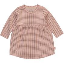 Jurkje Imani dusty pink grid