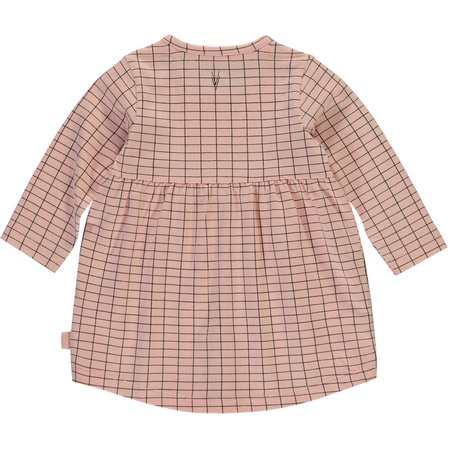 Levv Levv jurkje Imani dusty pink grid