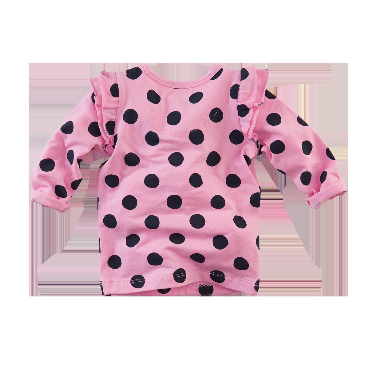 546ce542b55e71 Z8 longsleeve Dakota pretty pink dots | Hippe Mensjes