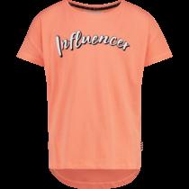 T-shirt Hessy peach glow