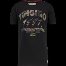 T-shirt Hilvio deep black