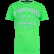 T-shirt Hilvio neon green