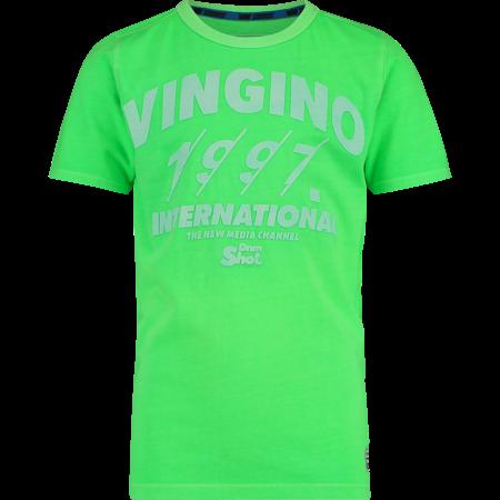 Vingino Vingino T-shirt Hilvio neon green