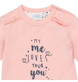 Feetje Feetje longsleeve my me loves love you roze