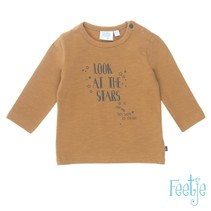 Longsleeve look lucky star camel