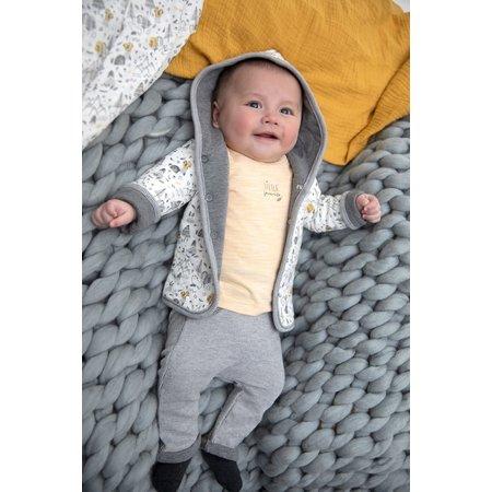 Feetje Feetje broekje fancy knit little favourite antraciet melange