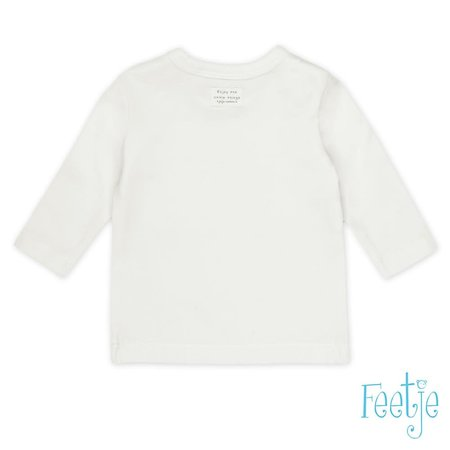 Feetje Feetje longsleeve enjoy little things offwhite