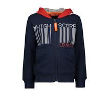Vest hoody zipper high score navy