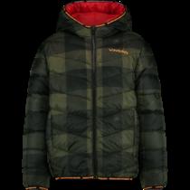 Winterjas Toine classic red