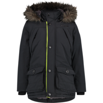 Winterjas Thibaut deep black