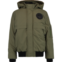 Winterjas Theigo army green