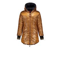 Winterjas Buzz long reverible bronze