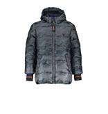 Bellaire Bellaire winterjas Ben hooded camouflage dark grey blue