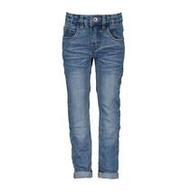 Spijkerbroek slim fit stretch jeans blauw