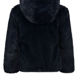 Like Flo Like Flo winterjas reversible hooded fur jacket navy