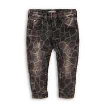 Jeans dark grey + aop