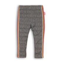Broek grey/black check