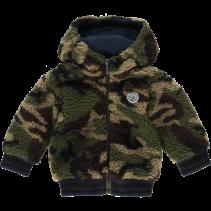 Teddy jasje Odix mini camouflage green