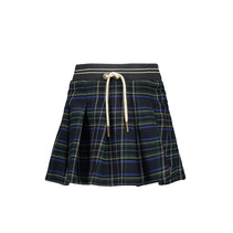 Rok scottish pleated navy