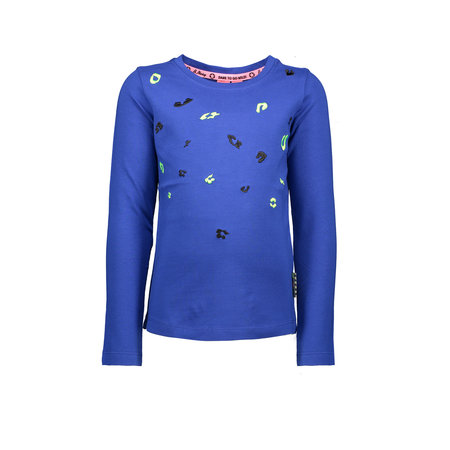 B.Nosy B.Nosy longsleeve with direct embroidery admiral blue