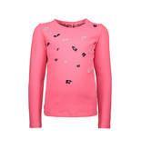 B.Nosy B.Nosy longsleeve with direct embroidery shocking pink