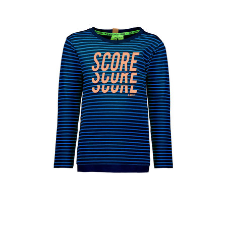 B.Nosy B.Nosy longsleeve yd stripe ink blue/ deep sea
