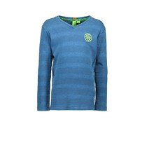 Longsleeve quilted cotton deep sea