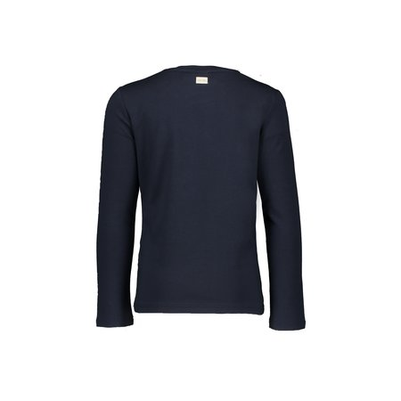 Le Chic Le Chic longsleeve pearly big eyes blue navy