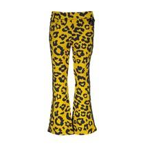 Broek leopard spots golden honey