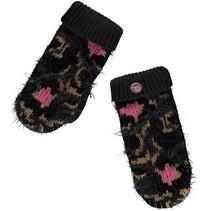 Wanten Truus leopard gloves grey