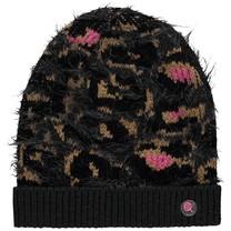 Muts Triska leopard gloves grey