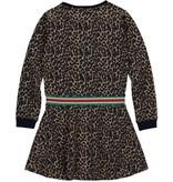Quapi Quapi jurk Tacey leopard