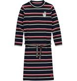 Quapi Quapi jurk Tahira navy stripe