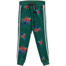 Broek Tiske forest green flower