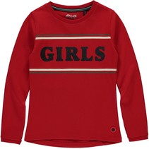 Longsleeve Tanaya lollipop red