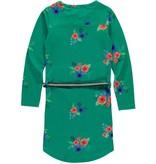 Quapi Quapi jurk Tamia 2 forest green flower
