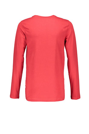 Bellaire longsleeve KevisC 3 colored artwork chest ruby red