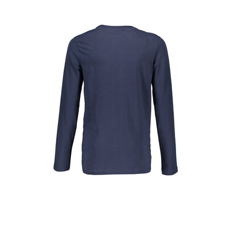 Bellaire Bellaire longsleeve KevisC 3 colored artwork chest navy blazer