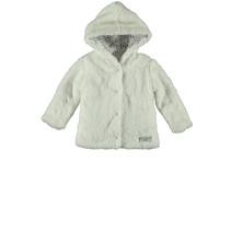 Jasje teddy hooded white