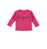 Bampidano Bampidano longsleeve aop bonjour pink