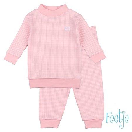 Feetje Feetje pyjama wafel baby zalm autumn special