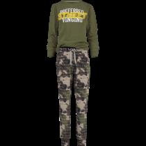 Pyjama Wolof camouflage green
