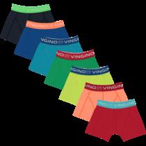 7-pack boxers colorbomb capri blue