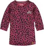 Quapi Quapi jurk Valente bordeaux leopard