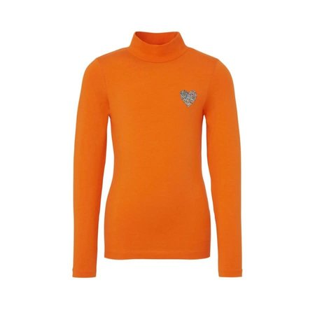 Name It Name It longsleeve Noraland mandarin orange
