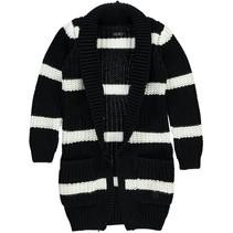 Vest Dilana black stripe