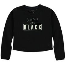 Trui cropped Dewi black